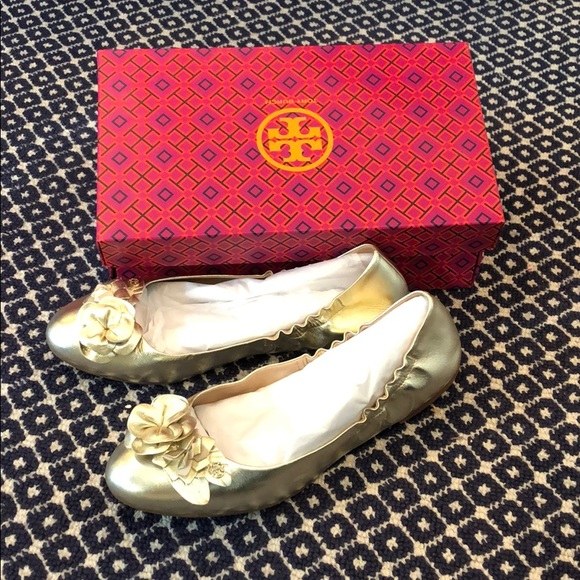 1288664fc8b Blossom ballet shoe from Tory Burch NWT